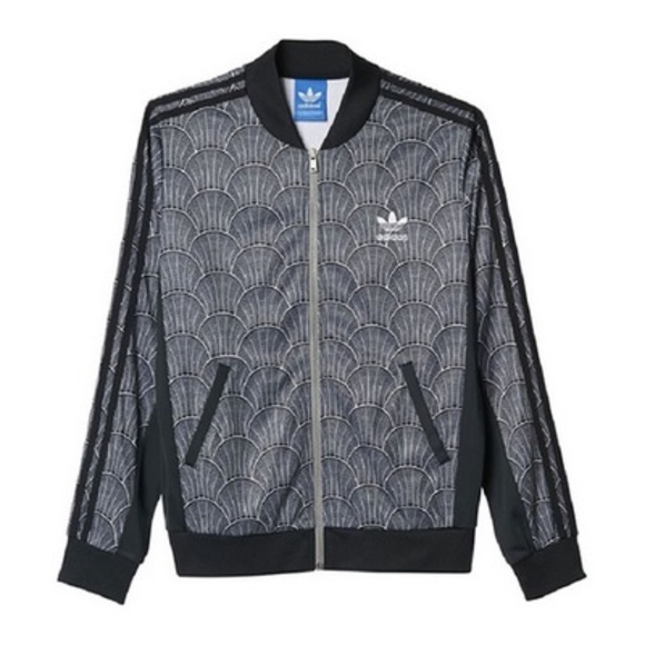 adidas Shell Tile Superstar Track Jacket Sz S